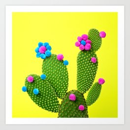 Sunshine in the desert Art Print