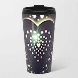 Flickering Heart Travel Mug