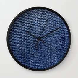 Jeans On All Wall Clock