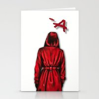 """pretty little liars Stationery Cards featuring Pretty Little Liars - """"Red Coat"""" 