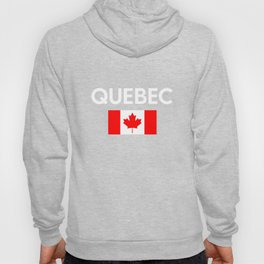 Quebec Canada Flag Proud Eastern Canadian Province Hoody