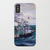england iPhone & iPod Cases featuring New England by Samantha Crepeau