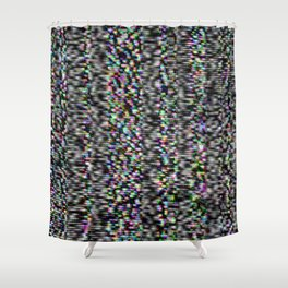Static.3 Shower Curtain