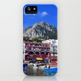 The Beach in Capri, Italy iPhone Case