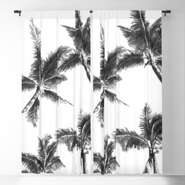 Palm Trees from Below Blackout Curtain