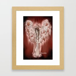 Harpy (Monster Girl Burlesque) Framed Art Print