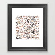 Horses, Ponies, Equine Framed Art Print