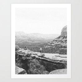 DEVILS BRIDGE / Sedona, Arizona Art Print