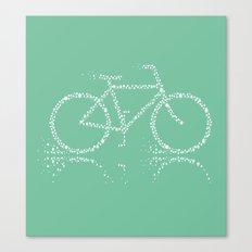 Treebike Canvas Print