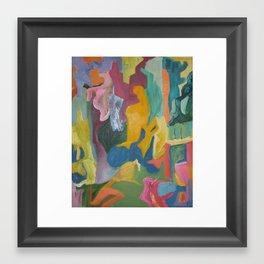 Abstract landscape 5 Framed Art Print