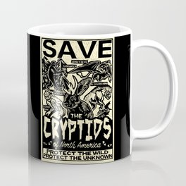 SAVE THE CRYPTIDS Coffee Mug