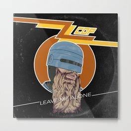 ZZ COP Metal Print