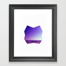Seascape I Framed Art Print