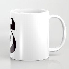 Lucky Number Five ...5 Coffee Mug