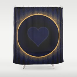 Pluto - The Heart Shower Curtain