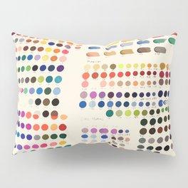 Artist Color Swatches - watercolor, prisma, paints Pillow Sham