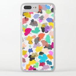 buttercups 2 sq Clear iPhone Case