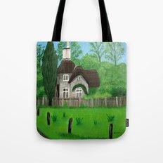 Cottage---Longleat safari park Tote Bag