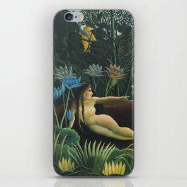 The Dream, Henri Rousseau iPhone Skin