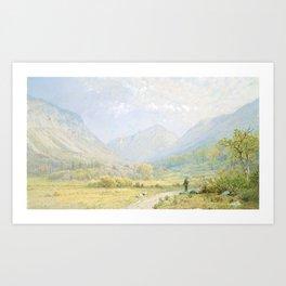 Franconia Notch, New Hampshire Art Print