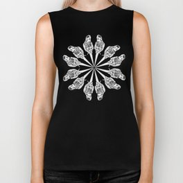 Matti the cocatiel circle of life Biker Tank