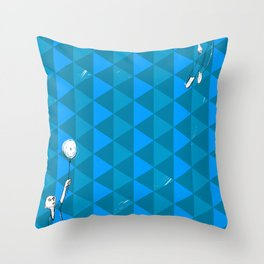 lift the planet Throw Pillow