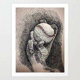 4 Seamer Art Print