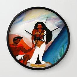MY AFRICAN QUEEN Wall Clock