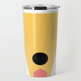 Golden Travel Mug