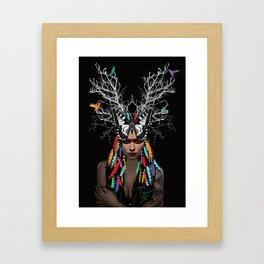 Ethnic Minority Framed Art Print