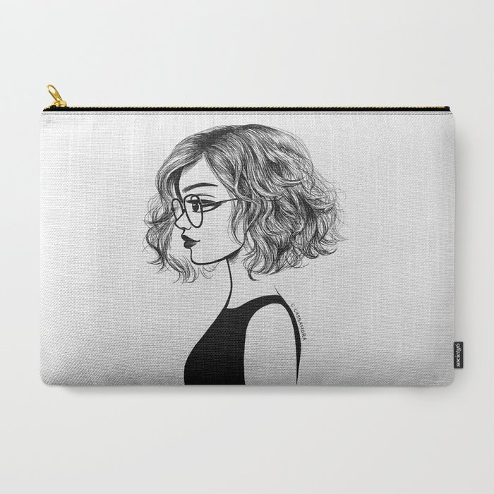 Girl_with_glasses_CarryAll_Pouch_by_Cassandra_Calin__Large_125_x_85