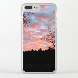 PinkSkies Clear iPhone Case