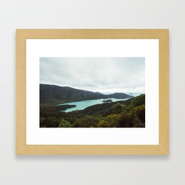 Marlborough Sounds Framed Art Print