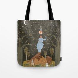 catching falling stars Tote Bag