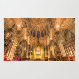 St Patrick's Cathedral New York Rug