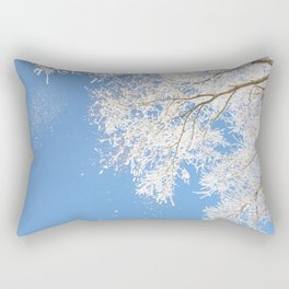 Snowfall Rectangular Pillow
