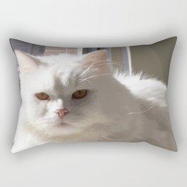 Cat In The House Rectangular Pillow