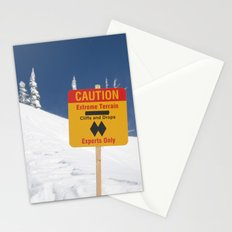 Signs Of Danger Stationery Cards