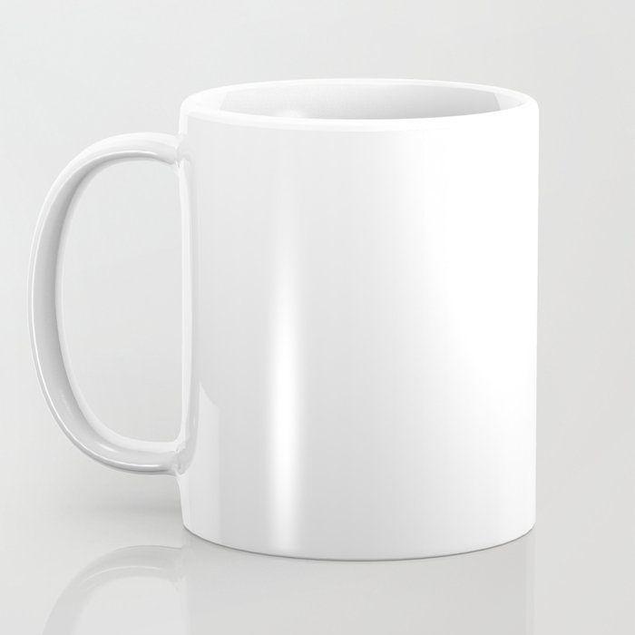 heather white flower Coffee Mug