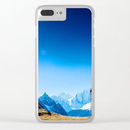 These Shapes Makes me Fly Clear iPhone Case