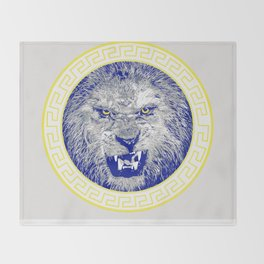 Versace Lion Throw Blanket