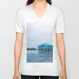 Island Retreat Unisex V-Neck