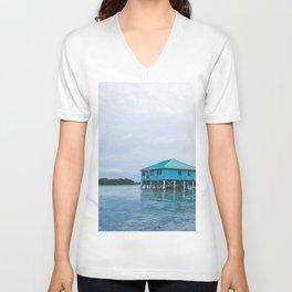 Island Retreat Unisex V-Neck