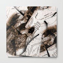 Strata No. 5 Metal Print