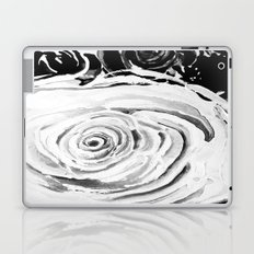 Roses For A Romantic Heart, Black and White Laptop & iPad Skin