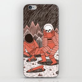 Death in Space iPhone Skin