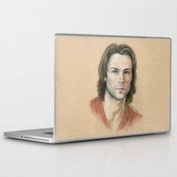 sam smith Laptop & iPad Skins featuring Sam by Stormwolf Studios