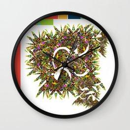 Fractal Mist Wall Clock