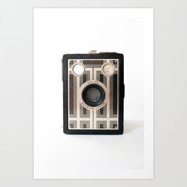 Vintage Camera No 5 Art Print