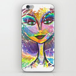 Oh My Darling, Its True. Beautiful Things Have Dents and Scratches Too iPhone Skin